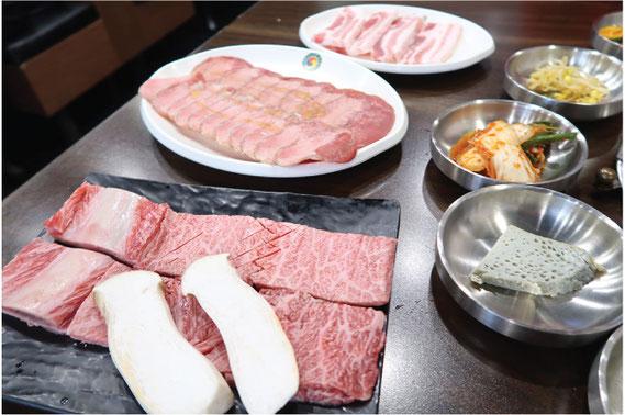 クオリティーの高いお肉が自慢