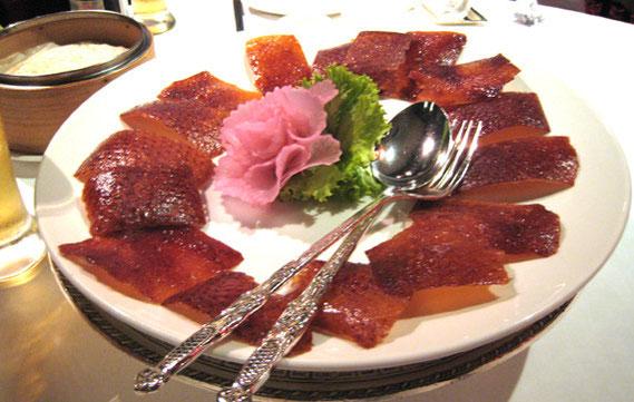 北京ダックは850バーツで美味