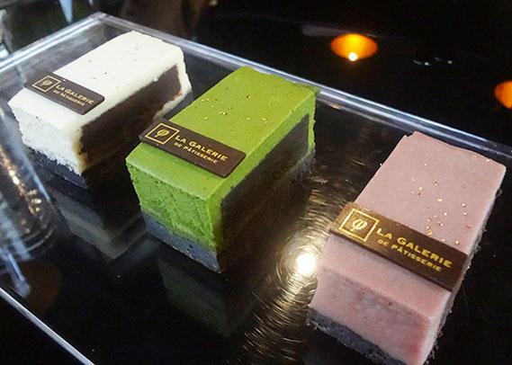 パティスリー&バー「ラ・ギャラリエ」のベイクドチョコレート