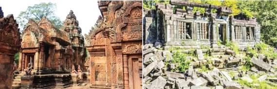 タイに隣接したラオスやカンボジア旅行も