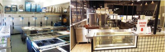 業務用キッチン、厨房機器
