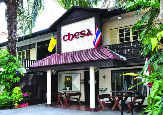 開業11年目の老舗スイスレストラン「チェサ」