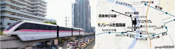開発の進むタイの交通網