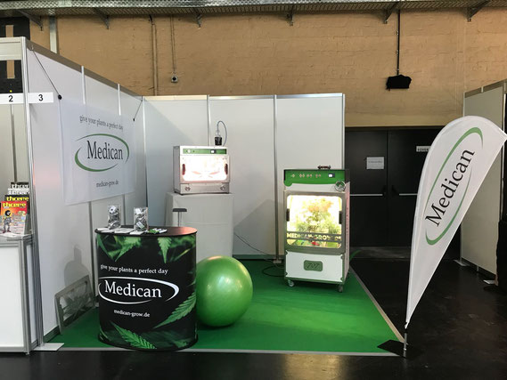 Medican Booth at Marry Jane Berlin