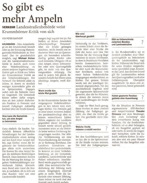 Emder Zeitung 29.09.2021