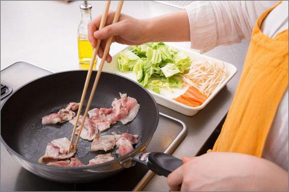 男性に人気の趣味3位「料理」