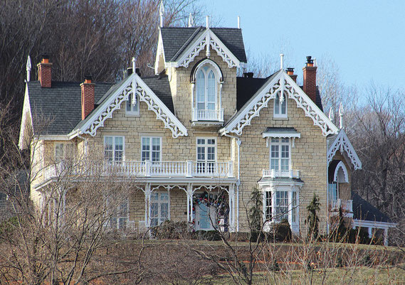 Bellevue's Springside, built in 1848, will be open for holiday tours this Sunday. Now the family home of Dave and Penny North, the iconic structure is on the National Registry of Historic Places. All proceeds from the tour will go to defray medical costs