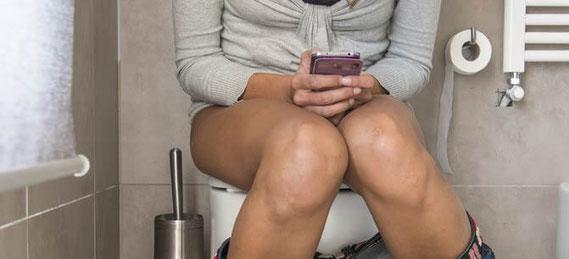 Also, wenn das iPhone in die Toilette gefallen ist, kann es noch gerettet werden