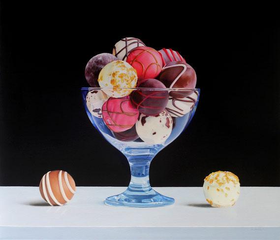 "Alexandra Averbach, ""Serendipity,"" 2020, oil on canvas, 24 x 28 inches"
