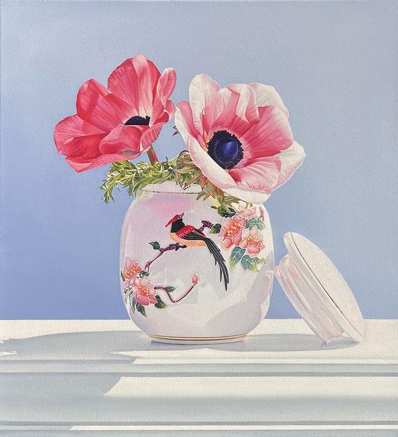 "Alexandra Averbach, ""Adorn,"" 2021, 26 x 24 inches, oil on canvas"