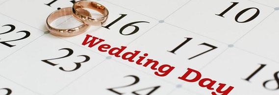 結婚式の日取り、大安、六曜