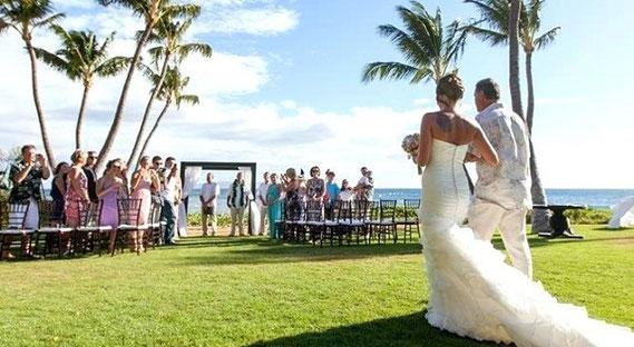 ハワイでの海外挙式