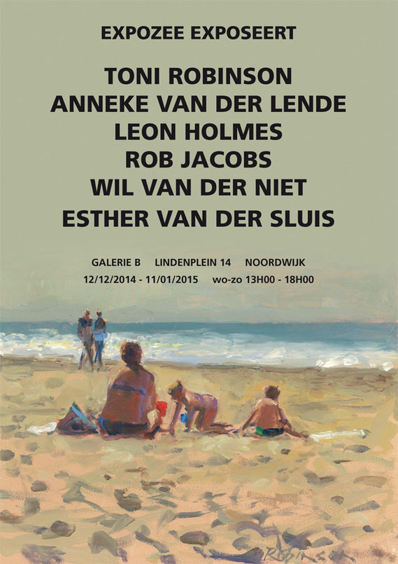With 5 other winning artists of Noordwijk Painting Festival 2014.
