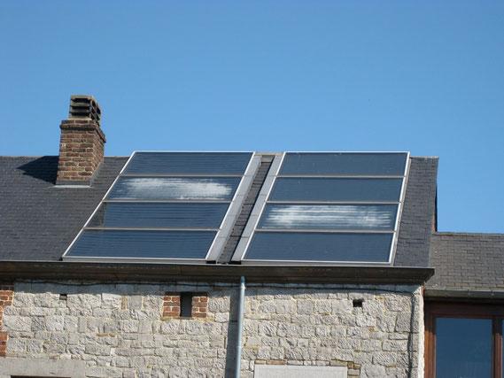 Condensations dans des capteurs solaires pour eau chaude