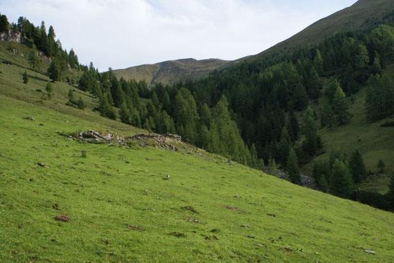Aufstieg kurz nach dem Karlbad