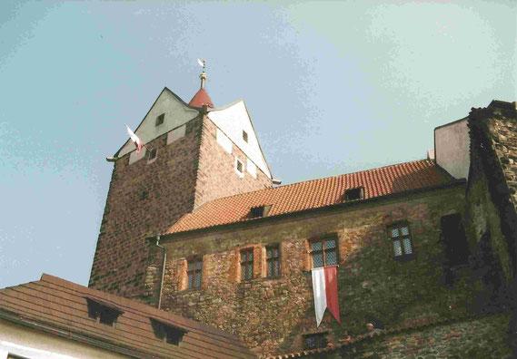 Gotische Burg zu Loket / Elbogen (Photo: Christian Meyer, 1998)