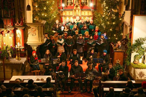 Adventkonzert am 23.12.2012 in der Pfarrkirche Siebenhirten