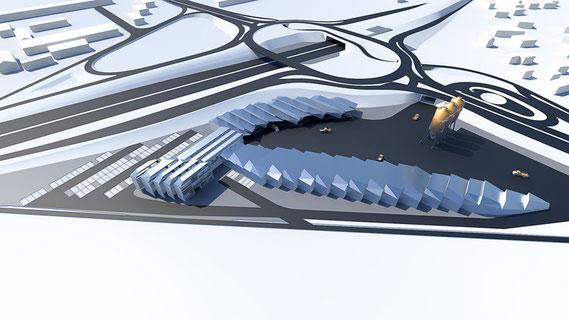 ASFINAG Autobahnmeisterei Salzburg site rendering