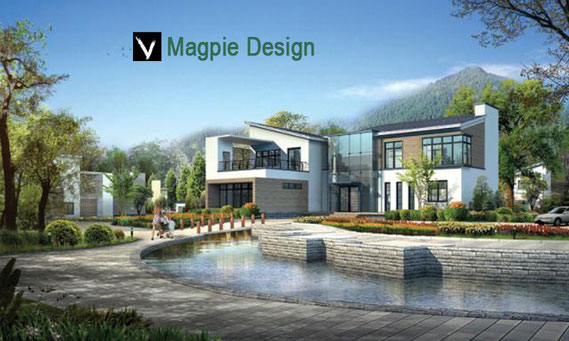 Exterior: Magpies Design 3D Architectural