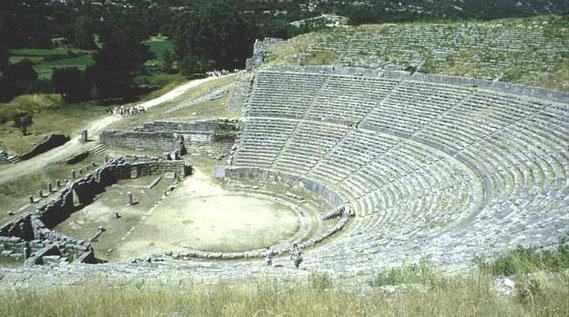 Amfiteatri i Dodonës i ndërtuar nga Pirro Burri në shek.e III