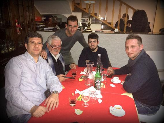 da sinistra: Pino (IT9FBN), Santo (IT9DLN), Alberto (IW9HHF), Gaspare (IT9GAK), Alberto (IW9HRQ)