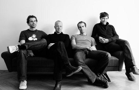 von Links: Roland Schweiger, Jörg Schneider, Michael Smoly, Florian Lamprecht