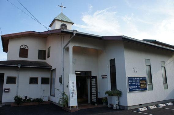 浜松教会正面