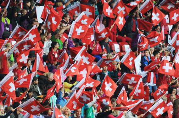 Zürich, EM-2014, Schweizer Fans