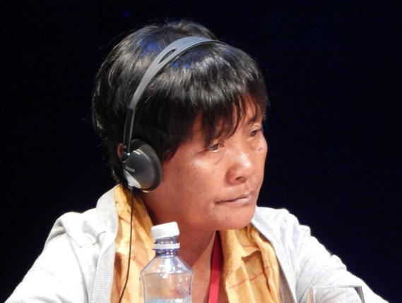 Celia Veloso (Philippinen), Mutter von Mary Jane Veloso, die in Indonesien zum Tod verurteilt ist...