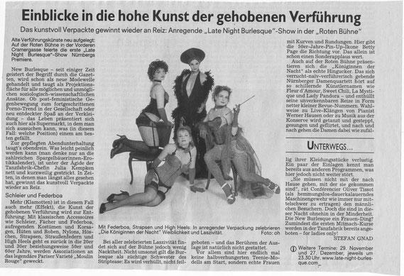 Nürnberger Nachrichten, 20.10.08