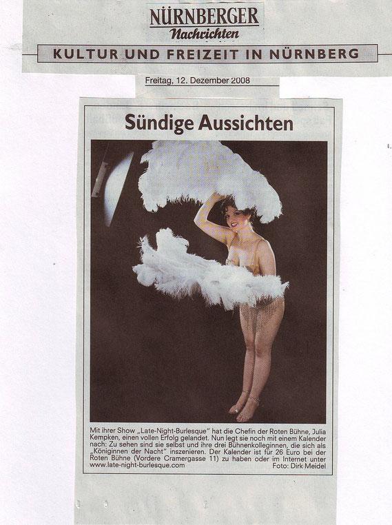 Nürnberger Nachrichten, 12.12.08