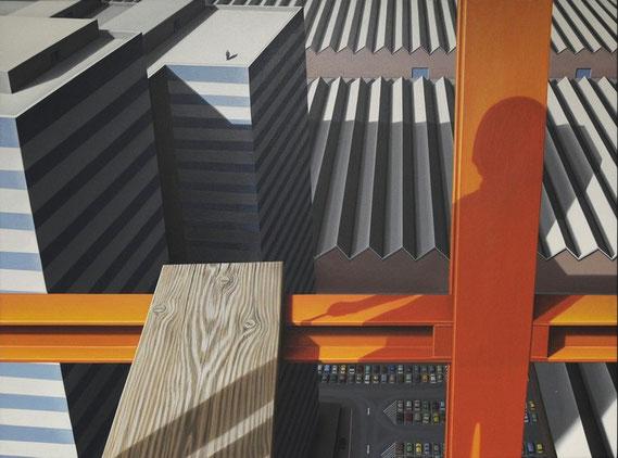 Wachstum, 1976/77, Ölfarbe auf Leinwand, 120/160 cm, Kunstsammlung Land NRW