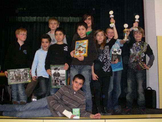 Die Buchloer Teilnehmer