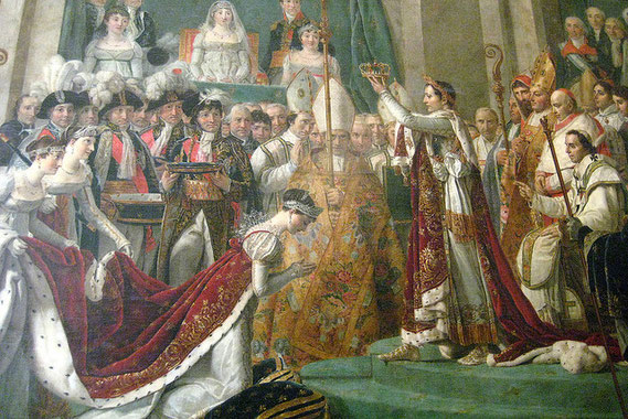 Coronation of Napoleon and Josephine Bonaparte