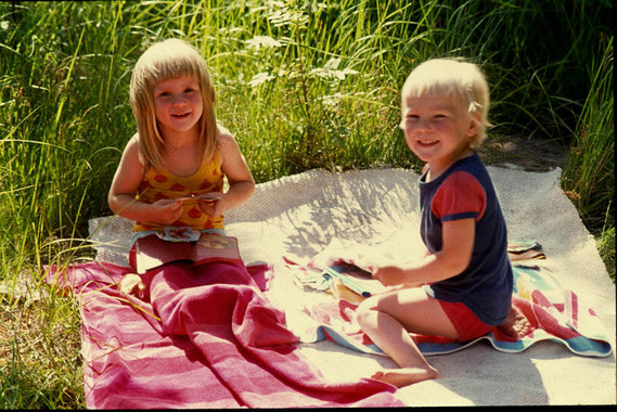 Yhteisellä picnikillä 1970-luvulla