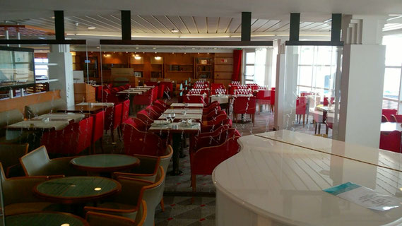 Les Romantiques, restaurant à la carte du Mont Saint Michel.