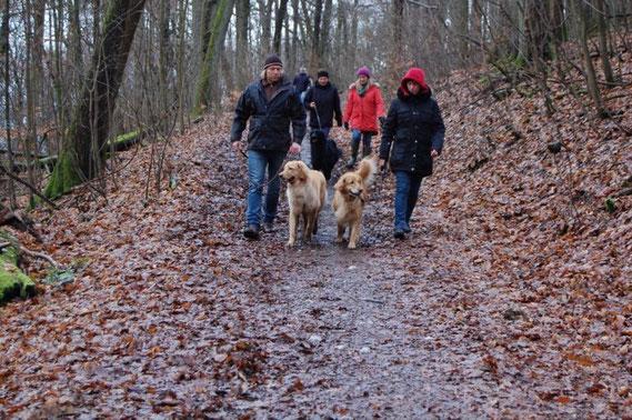 Booker Bleik ( links) und Thaler auf dem Weg in den Opelzoo, 10.02.2014