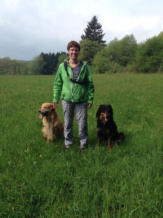 immer wieder schön mit Thaler und ihren Kindern unterwegs zu sein., April 2014