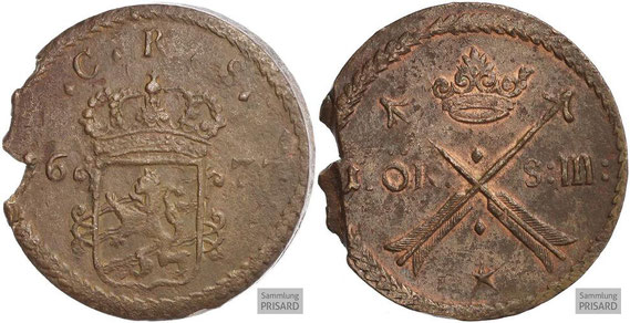NUM.17.002 Erkennungszeichen der Kamisarden (17./18. Jahrhundert) / © Sammlung PRISARD