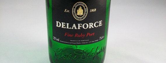 Portwein-Flasche von Delaforce  (2011) / © Sammlung PRISARD