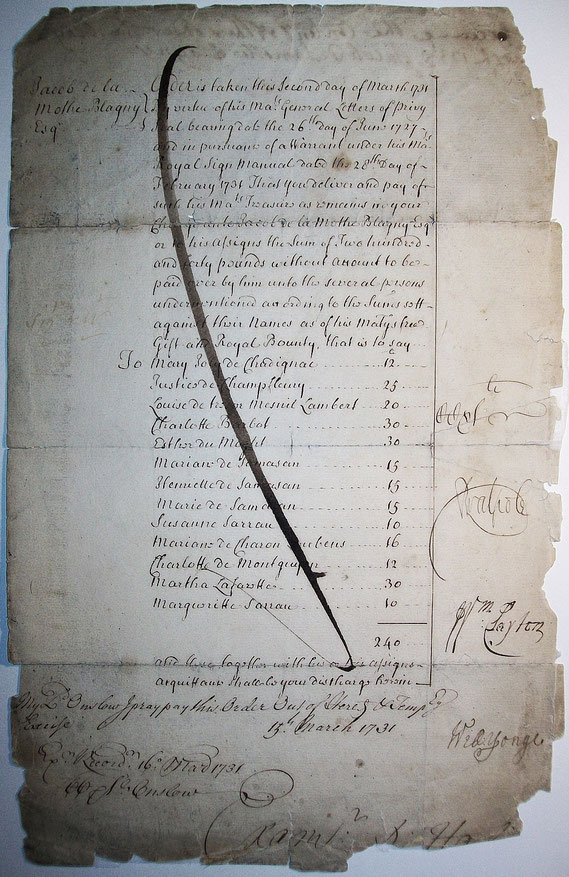 AUT.18.004 Armenfürsorge für Mittellose (London, 1731) / © Sammlung PRISARD