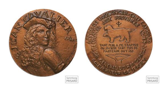 NUM.20.022 Kamisardenführer Jean Cavalier (1681-1740) / © Sammlung PRISARD