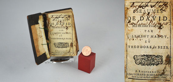 LIB.17.001 Psautier de chignon (Amsterdam, 1686) / © Sammlung PRISARD