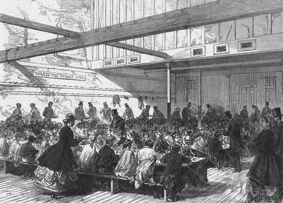 IMA.19.034 Armenspeisung in Ostlondon, einem Arbeitsschwerpunkt der London City Mission  (London, Mitte 19. Jahrhundert) / © Sammlung PRISARD