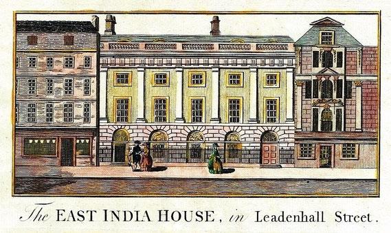 IMA.18.035 East India House (Kupferstich, 1786) / © Sammlung BFHG