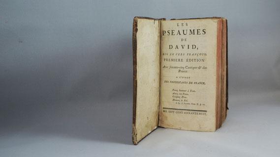 LIB.18.043 Pseaumes de David ([La Rochelle], 1768) / © Sammlung PRISARD