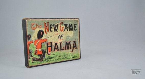 RES.20.050 Halma-Spiel von Jaques & Sohn (London) (»New Game of Halma«),  1. Hälfte 20. Jahrhundert / © Sammlung PRISARD