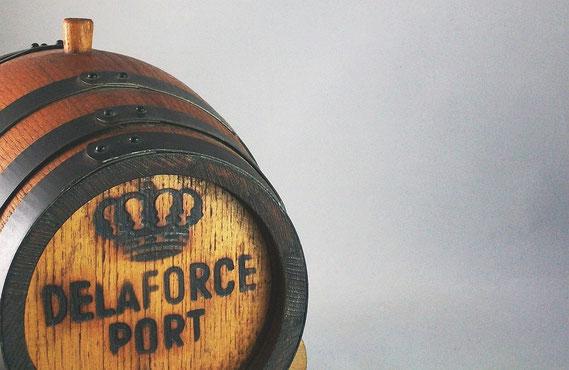 Portweinfass von Delaforce (um 1980) / © Sammlung PRISARD
