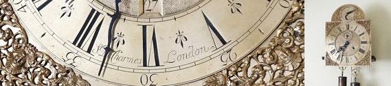 RES.18.027 Standuhrwerk von Simon De Charmes (London, Anfang 18. Jahrhundert) / © Sammlung PRISARD