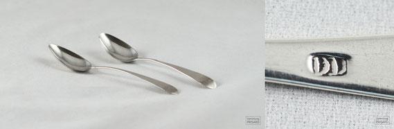 RES.18.009 Silberlöffel von Daniel Dupuy senior (Philadelphia, um 1790) / © Sammlung PRISARD